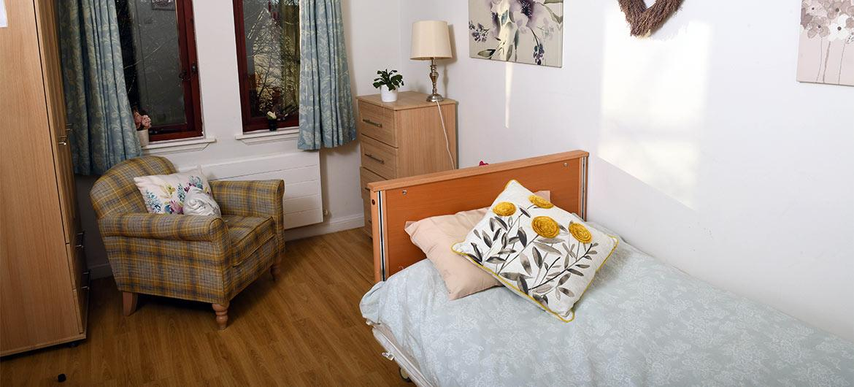 Bedroom at Westwood House
