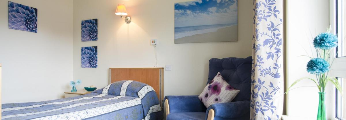 Bedroom at Ashgreen House Residential and Nursing Home