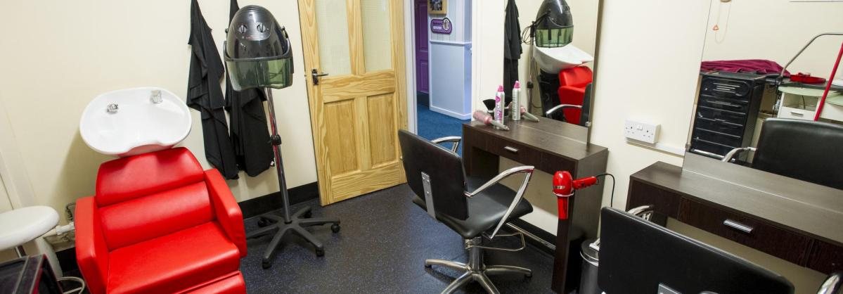 Hairdressers at Ashley House Residential Care Home