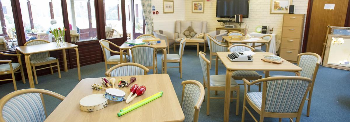 Day care centre at Beechwood Residential Care Home