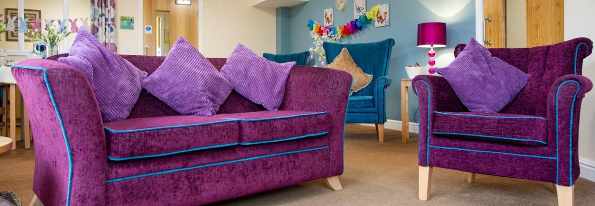 Allanbank care home shared lounge