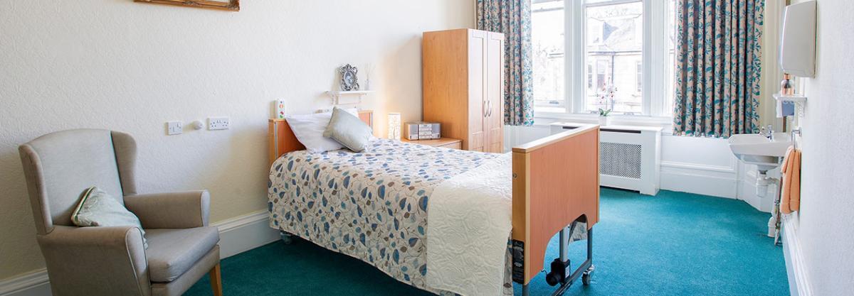 Bedroom at Camilla House in Edinburgh