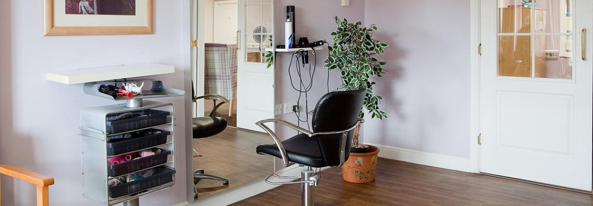 Hairdressers at Cedar Court Residential and Nursing Home in Durham