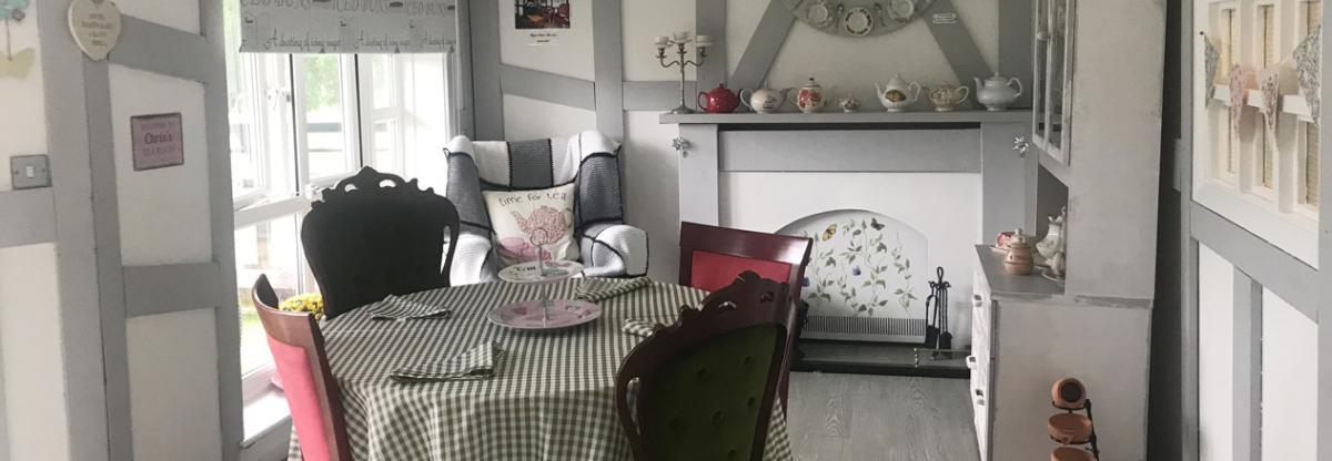 Chadwell House tea room