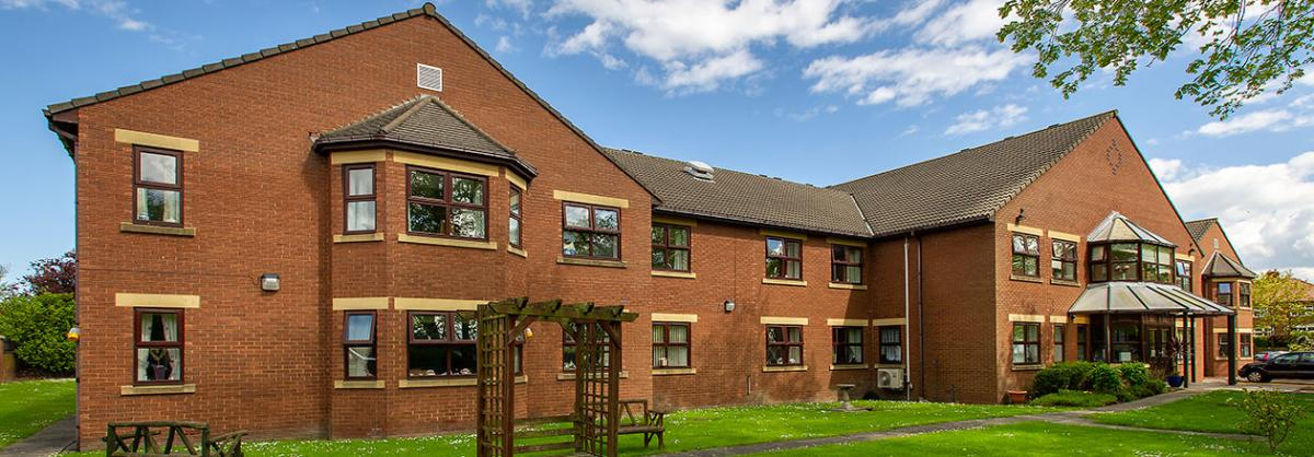 Exterior at Dovecote Residential and Nursing Home in Durham
