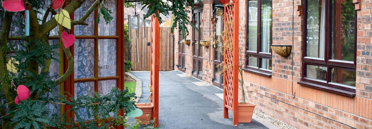 Lammas House Residential Care Home garden