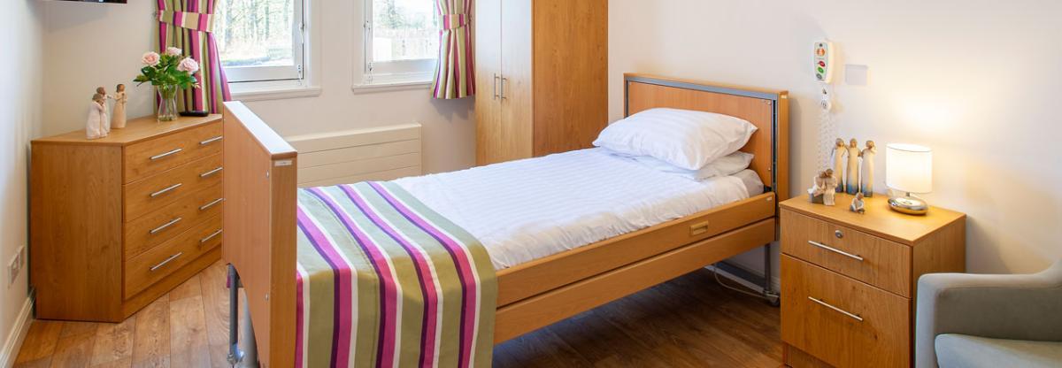 Pitcairn Lodge Nursing Home example bedroom