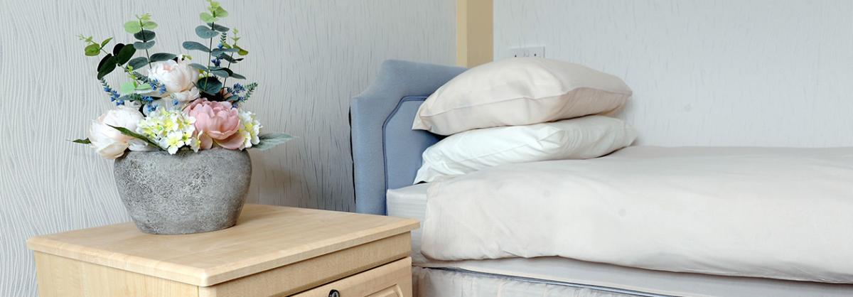 Bedroom at Prince Alfred Residential Care Home in Liverpool