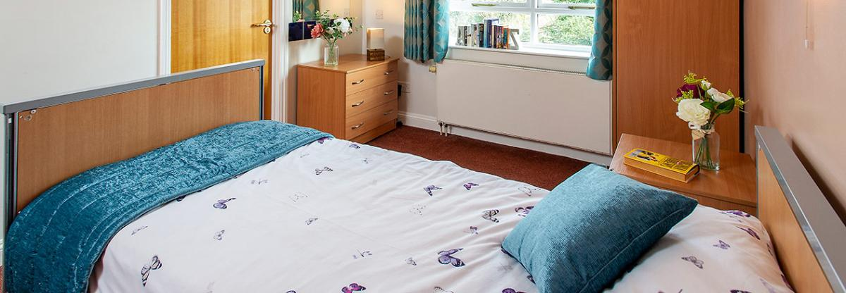Bedroom at the Park in Derby