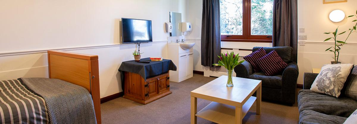 Example bedroom at Tyneholm Stables in East Lothian