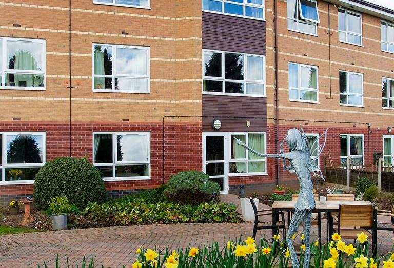 Exterior of Breme care home
