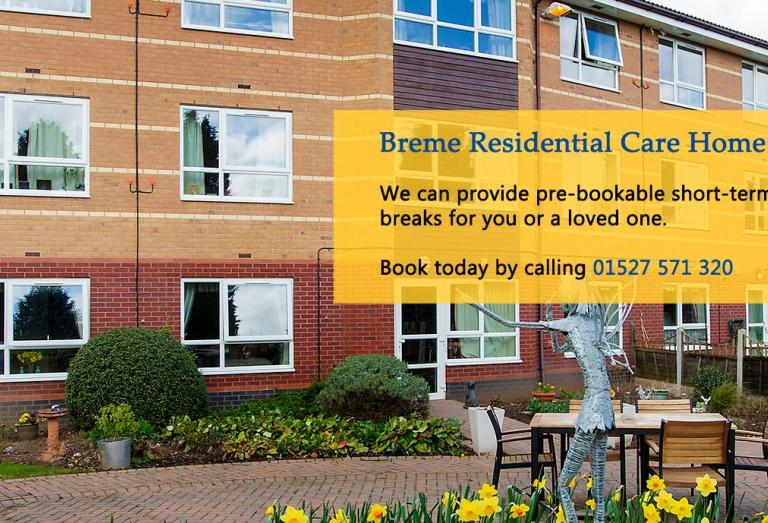 Breme Residential Care Home - Respite Campaign Banner
