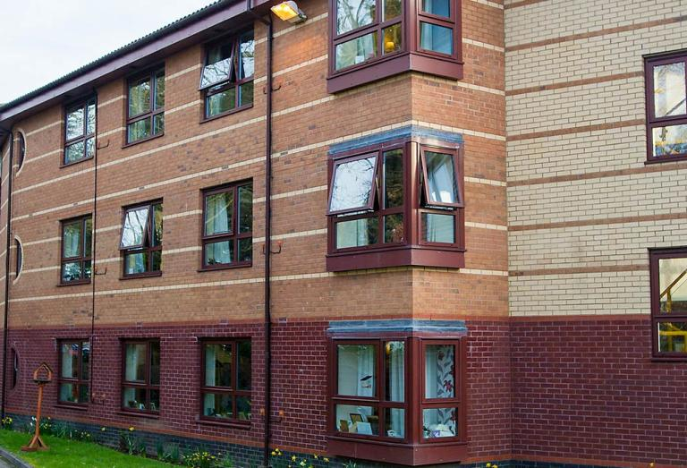 Exterior of Hastings care home
