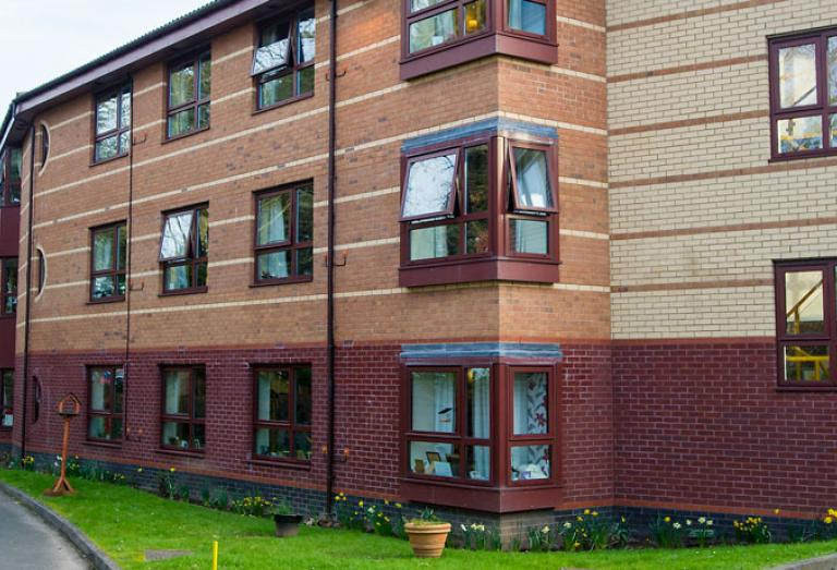 Hastings Care Home Exterior