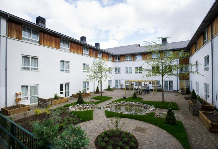Veranda Gardens Nursing Home. Interesting Patio Ideas For Small