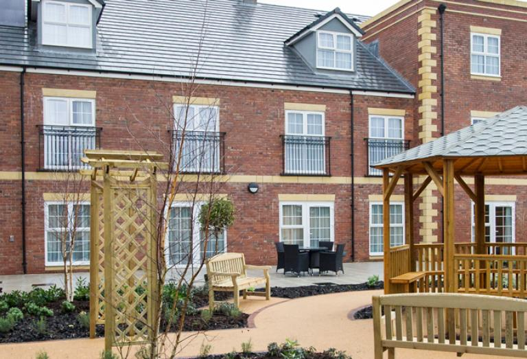 Upton Dene care home exterior