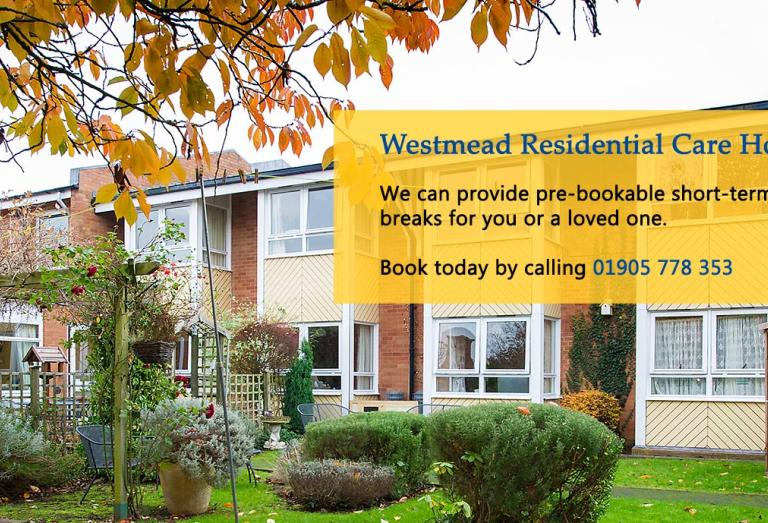 Westmead Residential Care Home - Respite Campaign Banner