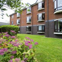 Exterior at Broadmeadow Court Residential Care Home