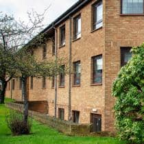 Exterior of Abercorn House care home