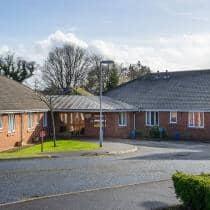 Exterior of Allanbank care home