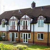 Exterior of Asra House Residential Care Home, regional winner of the Great British Care Awards 2017