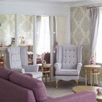 Example living area at Basingfield Court.