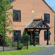 Exterior of Dalby Court Residential Care Home in Middlesbrough