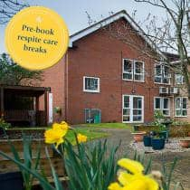 Heathlands Residential Care Home - Respite Campaign Banner