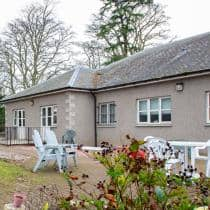 Exterior of Park Lodge care home