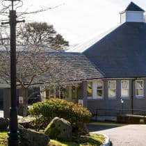 Exterior of Pitcairn Lodge Nursing Home