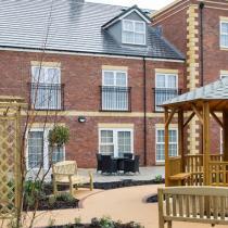 Upton Dene care home exterior