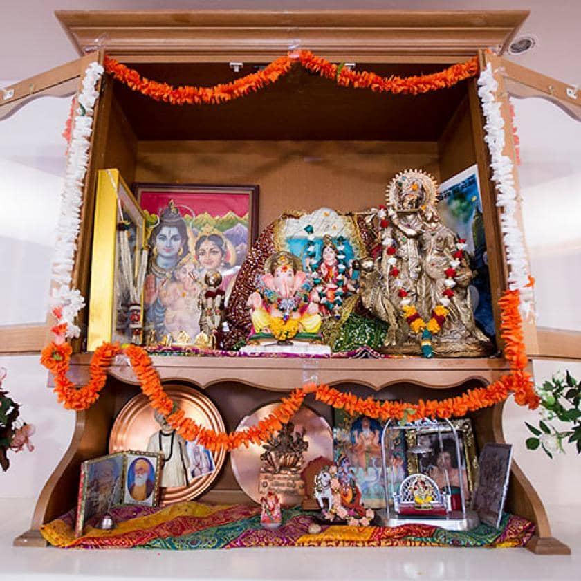 Shrine at Aashna House
