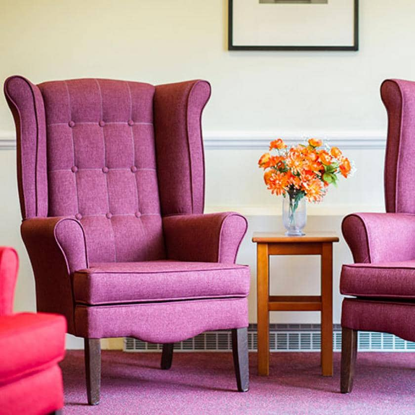 Ashgreen Park wingback chairs