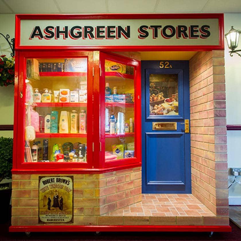 Ashgreen Park retro shop