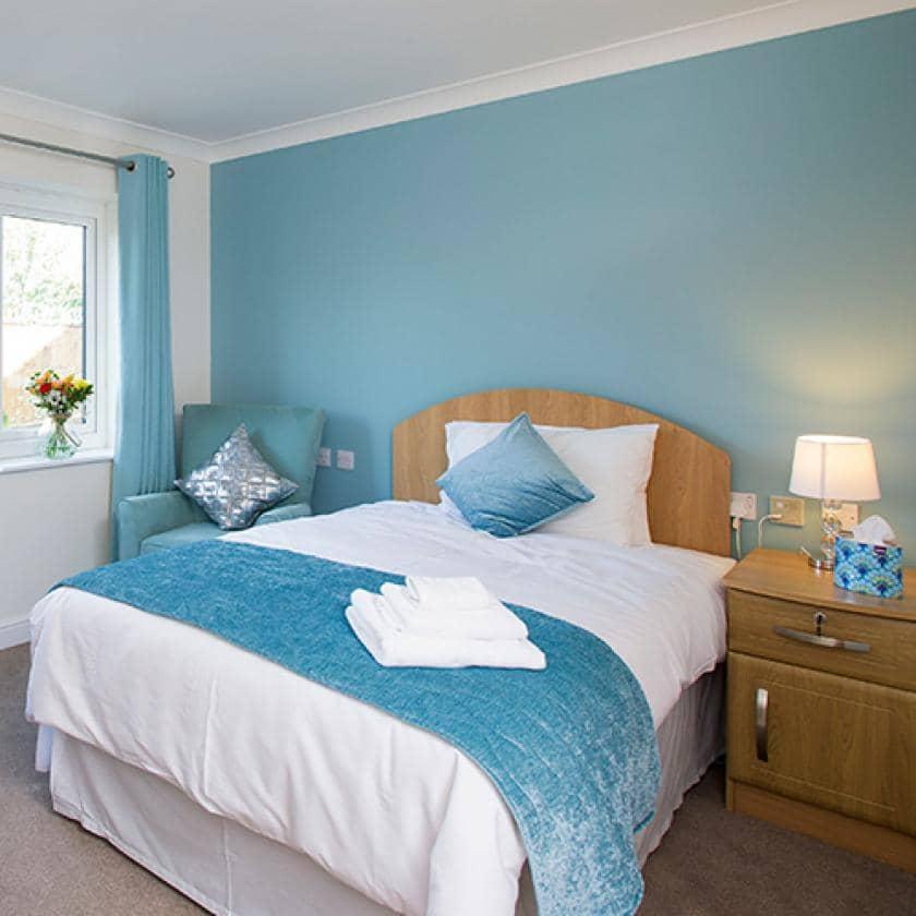 Barony Lodge bedroom