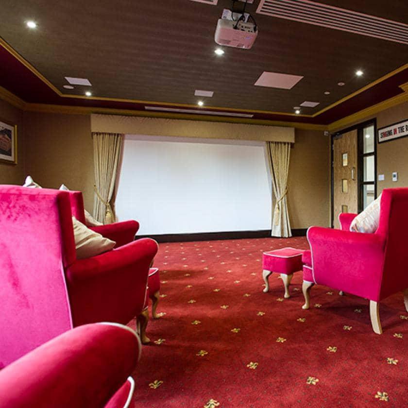 Cinema at Barony Lodge