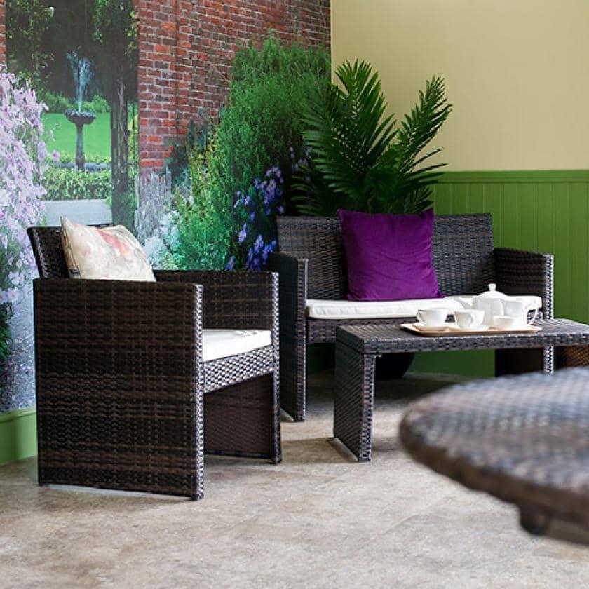 Barony Lodge garden room