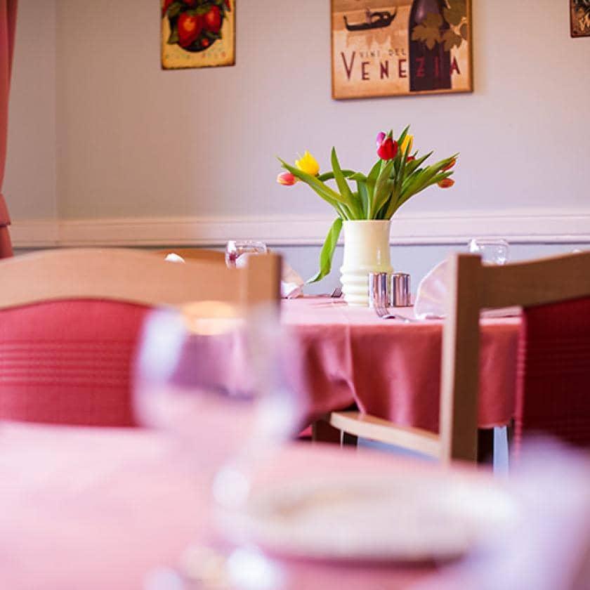 Dining room at Beechwood