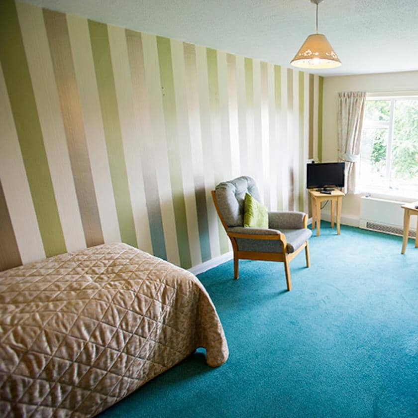 Bedrooms at Bradwell Court