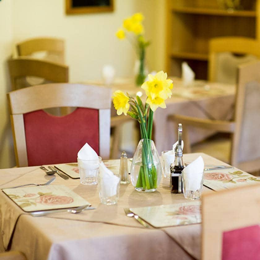 Dining room at Brambles