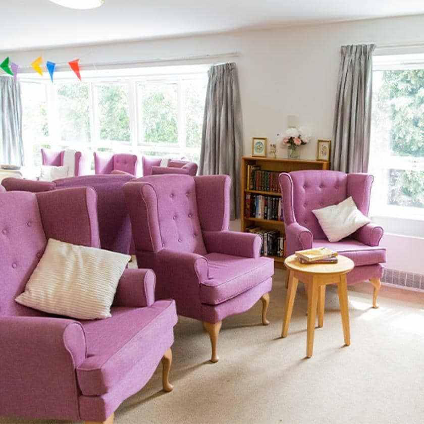 Lounges at Breme care home