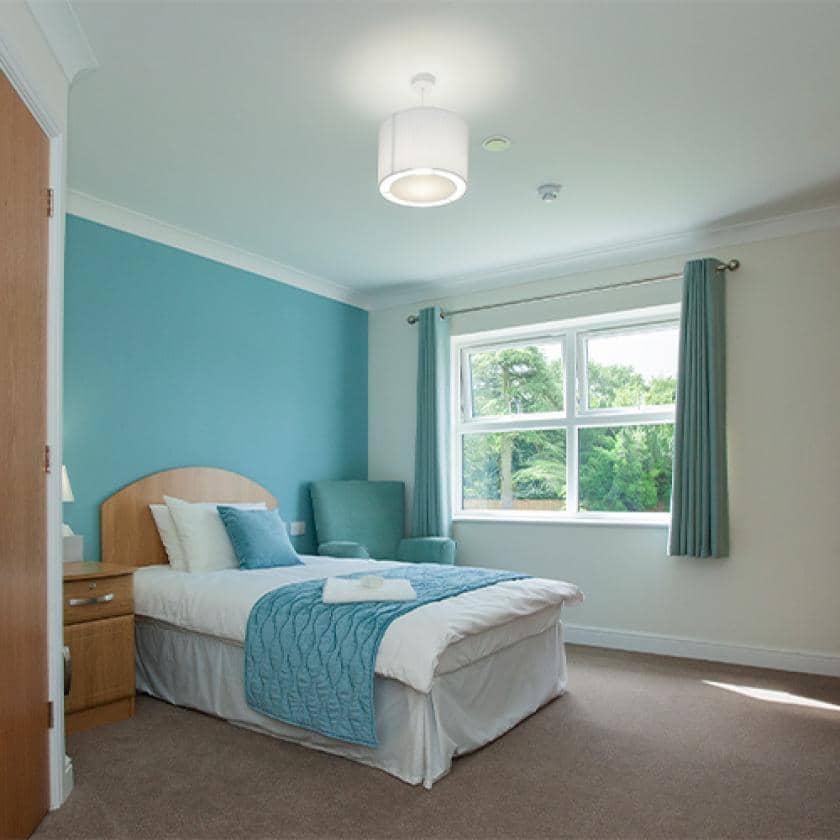 Example bedroom at Briggs Lodge