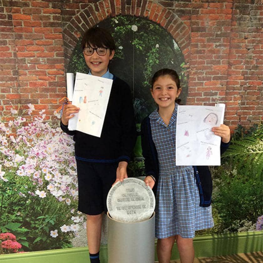 Local school children get involved at Briggs Lodge