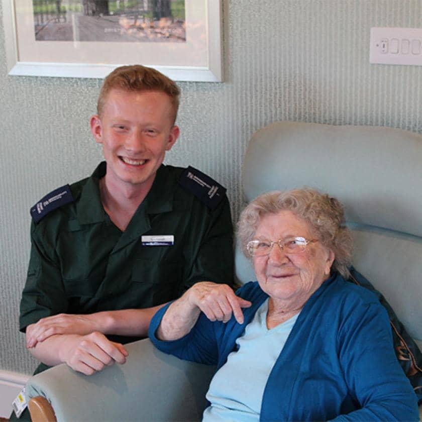 Student paramedics visit Castlecroft