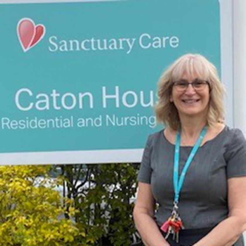 Caton House Manager Joanne Burgess