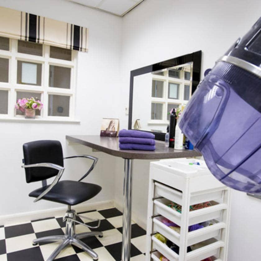 Hair salon at Chadwell House