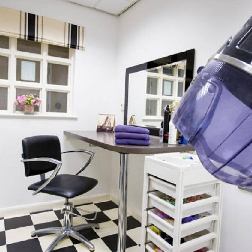 Hair salon at Chadwell House