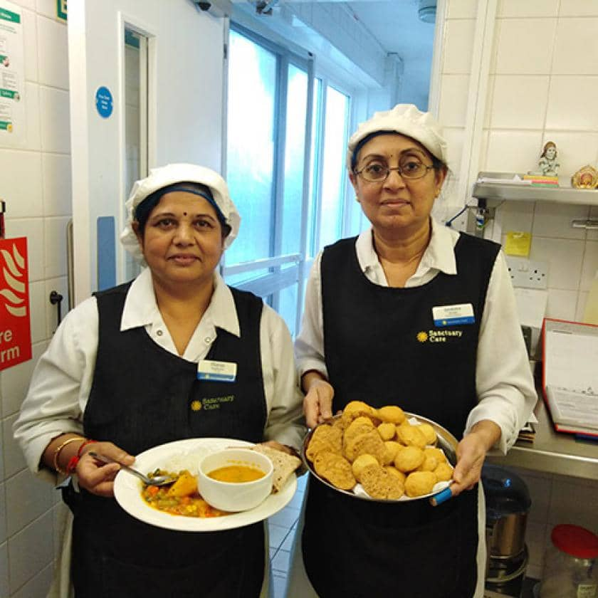 Chefs at Asra House