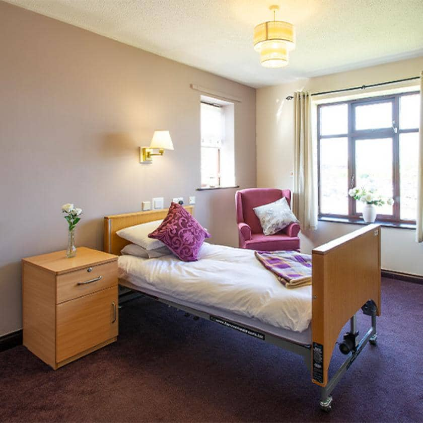 Bedroom at Dalby Court