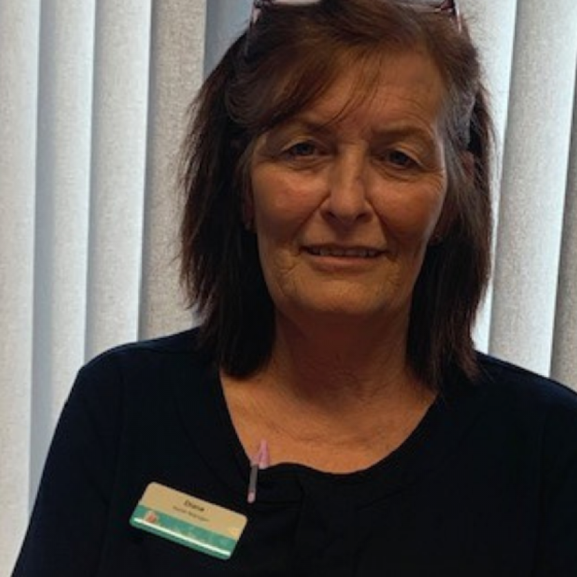 Diane Maughan, Dalby Court Care Home Manager